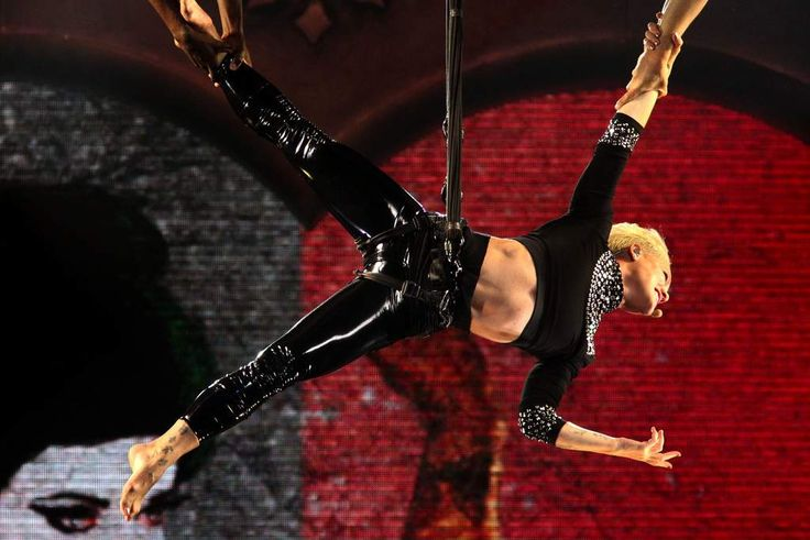 Pink performs at Sydney Entertainment Centre to a full house.