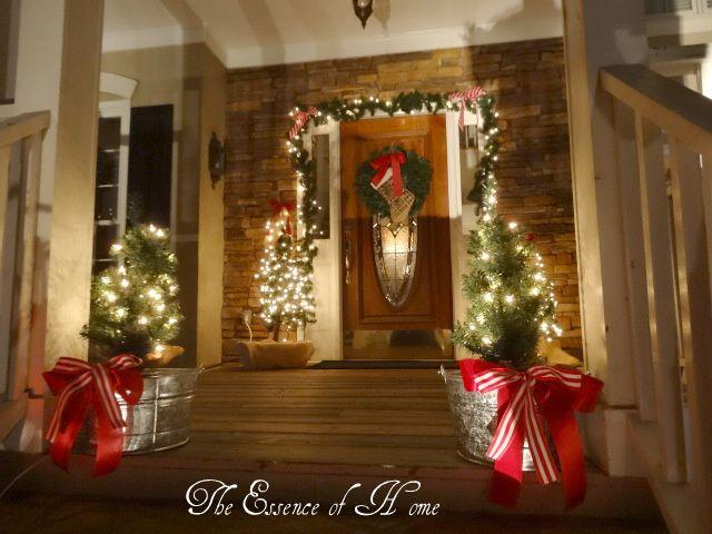 Casa decoraciones de navidad en el exterior and navidad - Decoracion navidad exterior ...