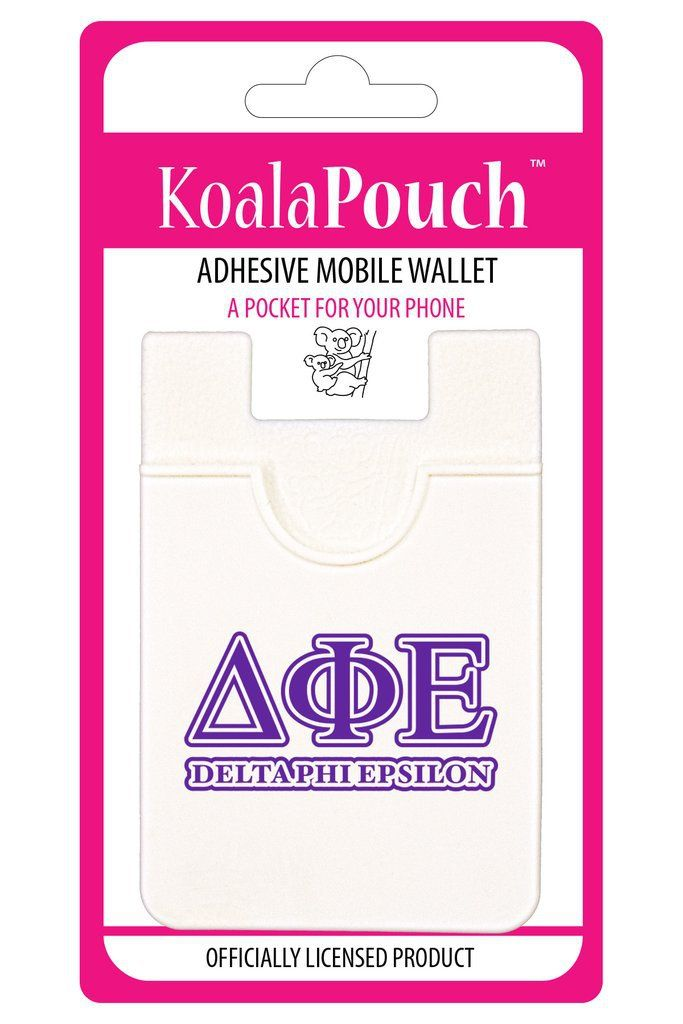 Delta Phi Epsilon Sorority Koala Pouch - Brothers and Sisters' Greek Store