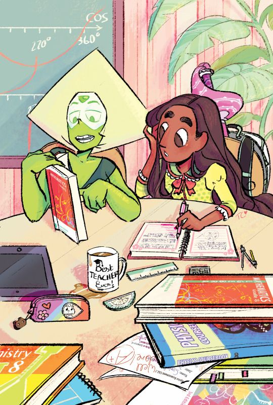 Peridot and connie