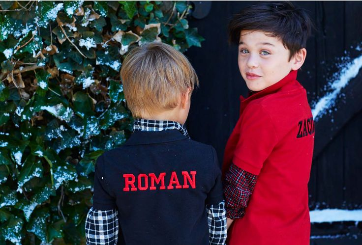 Polo Holiday Kids Name on Back Personalized Polo