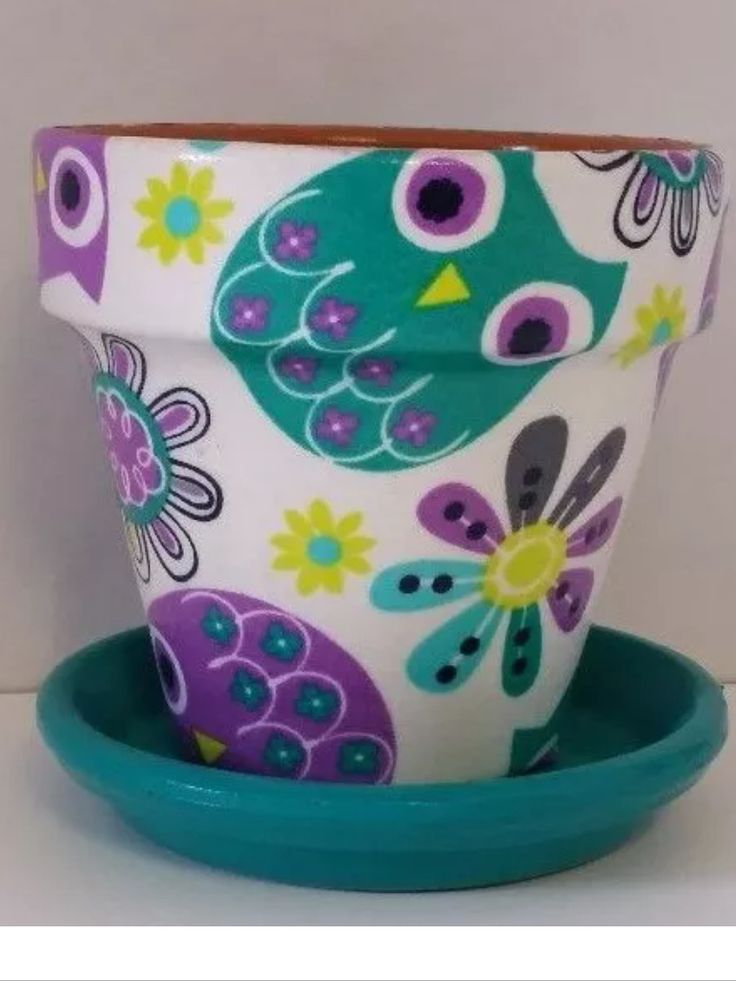 254 Best Images About Cute Flower Pots On Pinterest