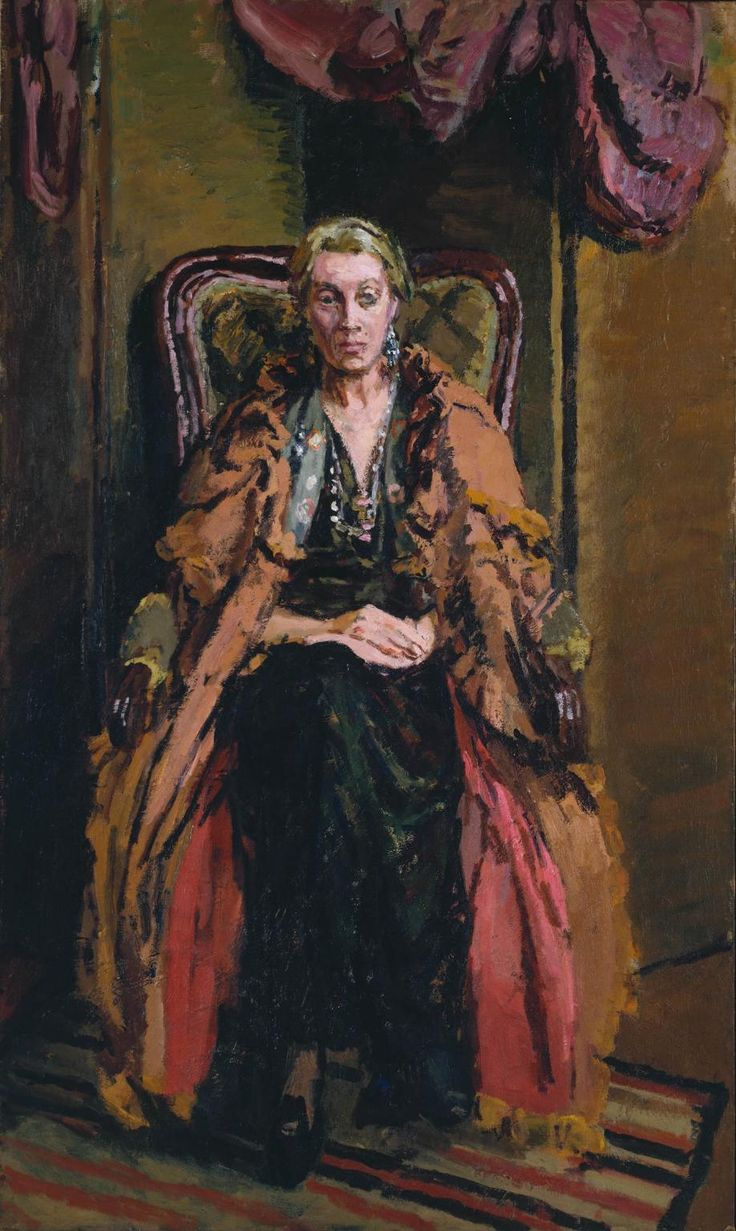 Vanessa Bell, 1942 by Duncan Grant (British, 1885-1978) Bloomsbury Group