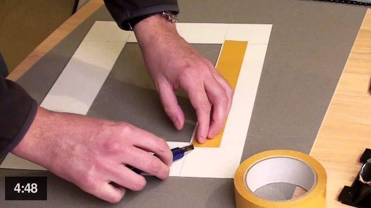 tutorial r aliser un passe partout photo 3 3 m thode rapide crafts pinterest photos. Black Bedroom Furniture Sets. Home Design Ideas