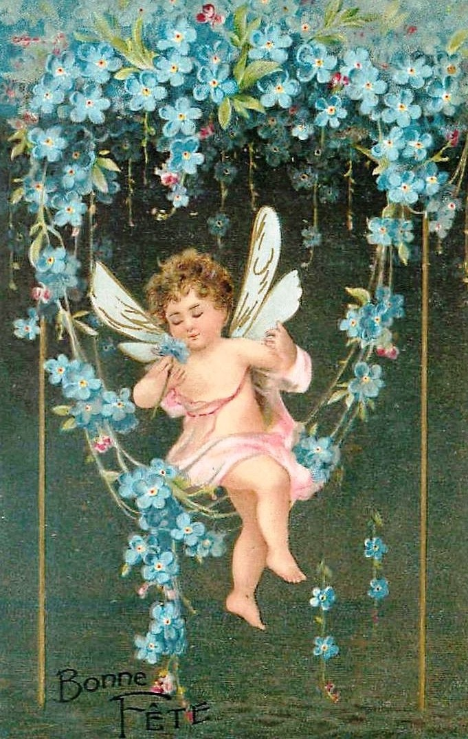 forget me nots fairy