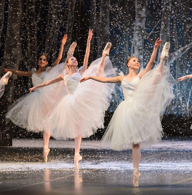 Boston Ballet's Nutcracker. The Waltz of the Snowflakes is my favorite.