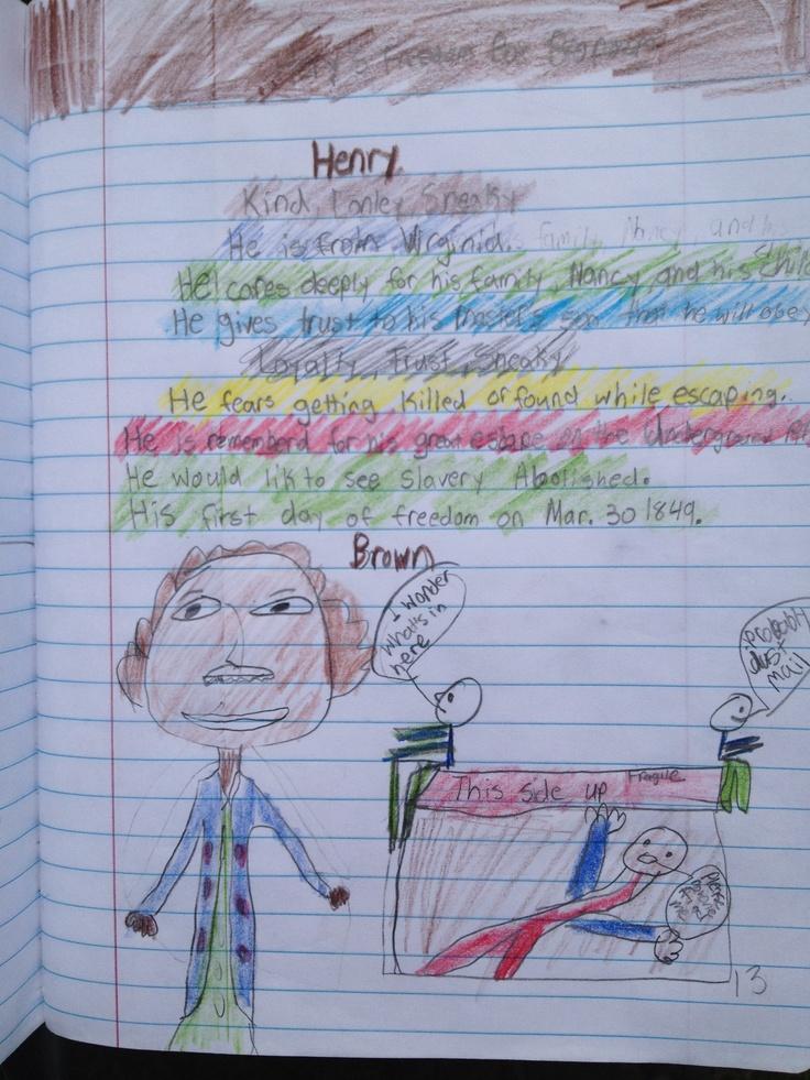 Bio Poem Henry 39 S Freedom Box Interactive Notebooks