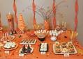 """Halloween Candy Buffet Tutorial - Nothing screams """"Halloween"""" like a candy buffet!  Halloween is already centered around candy, so it's only natural to celebrate the holiday with a buffet table loaded with spooky sweets & creep candies.  Learn tips & tricks to create your own Halloween candy buffet.  (14 Steps in Total)"""