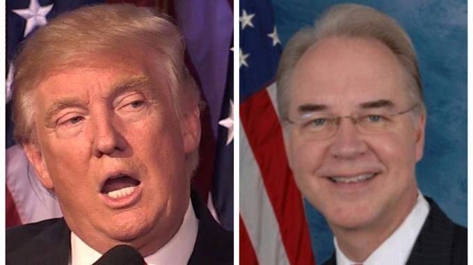 Senate Democrats are calling for the Office of Congressional Ethics to investigate Trump's HHS nominee, Rep. Tom Price (R-GA) for making $300,000 in trades in healthcare stocks while pushing legislation that would impact the stock price of the companies Price owned shares in.