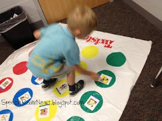 Free!! Artic twister! fun idea for therapy from speechroomnews!