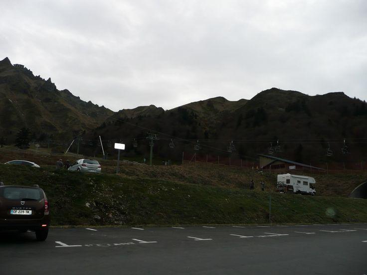 Le Puy de Sancy tout à gauche