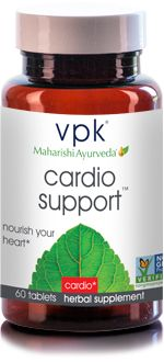 Cardio Support. Cardiovascular Health supplement from vpk, by Maharishi Ayurveda.