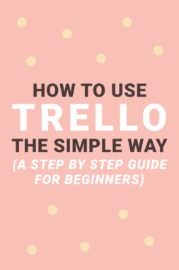 Trello is a simple, flexible, and free productivity tool you can use to stay on top of your tasks. Trello's easy-to-use interface is also perfect for beginners. Click through to see how I use Trello to stay productive.