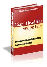 Giant Headline Swipe File | #copywriting