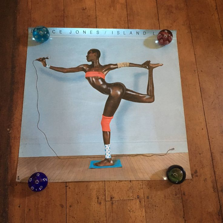 Grace Jones Island Life 1985 Island Records Original Rare Vintage MuSIC Poster by RockPostersTreasures on Etsy