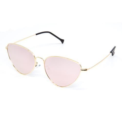 95d3853c5ae Retro Classic Rose Gold Mirrored Sunglasses