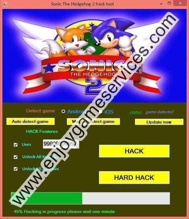 sonic hedgehog 2 hack tool