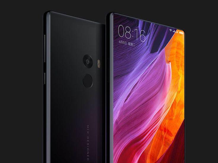 philippe starck unveils 'Mi MIX' edgeless display smartphone for xiaomi