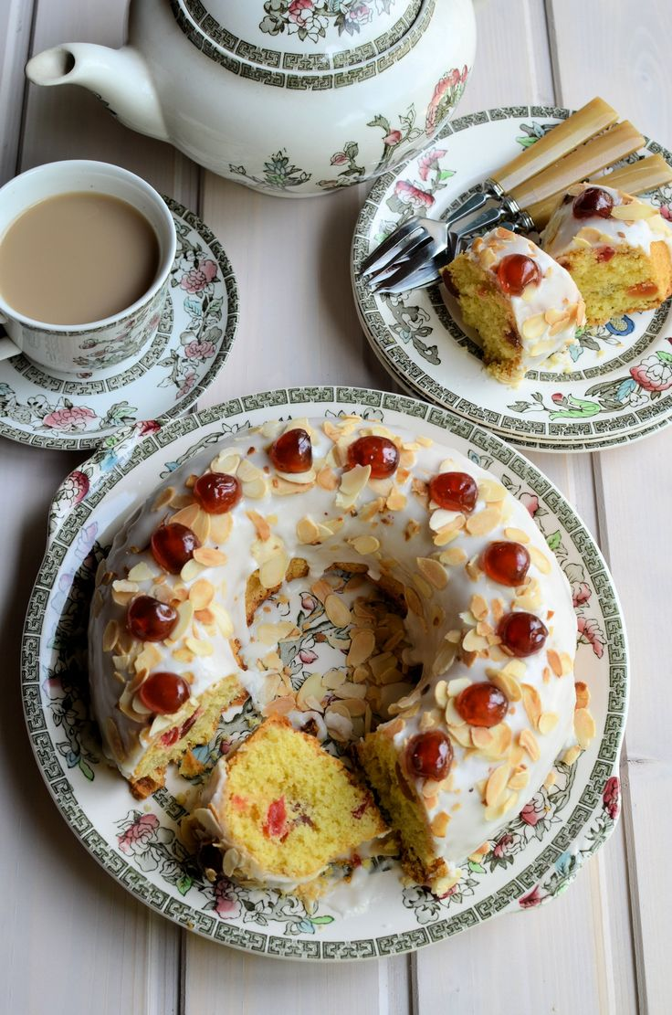 Mary Berry's Cherry Cake | recipe by Mary Berry adapted by Lavender and Lovage