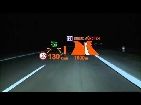 BMW 6 Series Head Up Display