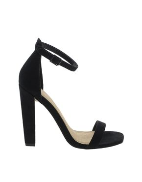 ASOS HOXTON Heeled Sandals £42, simple black heels that would look amazing, unless of course you're not about that toe cleavage