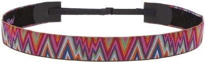 Multi Flame Stitch Adjustable Headband by Hipsy $18.95