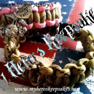 Desert Camo -Marine Corp, Marine Wife,Marine Girlfriend- His and Hers matching bracelet set    $14.00 plus shipping www.myheroskeepsakes.com www.facebook.com/myheroskeepsakes ..These items in this album are all hand made by me :)