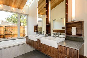Sea Ranch Residence - midcentury - Bathroom - San Francisco - Hudson Street Design