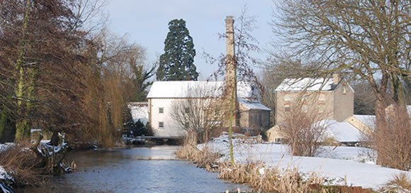 A lovely looking wintery Stotfold Mill!!