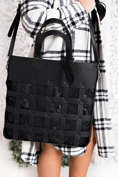 Private Evening Naughty Monkey Bag (Black)