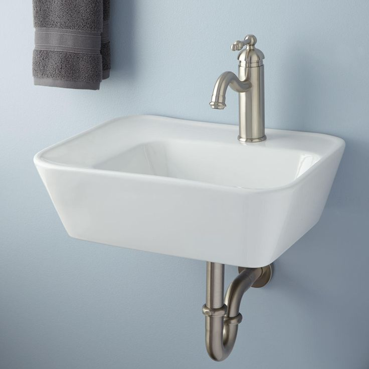 1000+ Ideas About Wall Mounted Sink On Pinterest