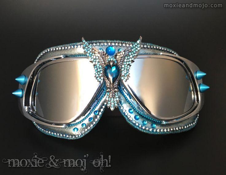 "Goggles: ""Rise of the Phoenix"" by MoxieandMojoFashion on Etsy"