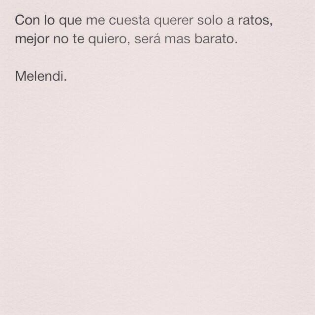 Melendi.