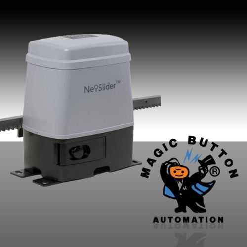MAGIC BUTTON ATA Sliding Gate Motor Includes Two Securacode Remotes by magicbuttonman