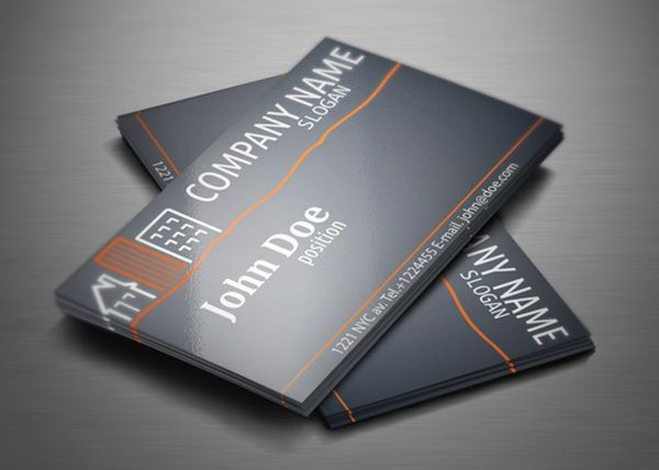 Real Estate Business Cards Templates Free In 2021 Free Business Card Templates Construction Business Cards Business Card Templates Download