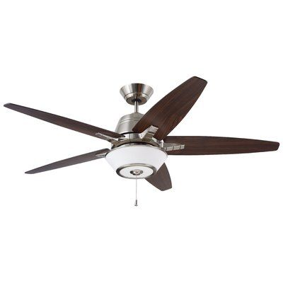 Simple Emerson Fans Euclid Blade Ceiling Fan Finish Brush Steel with Walnut