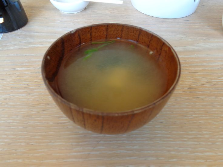 Miso Soup @ Restaurant Kado Sushi