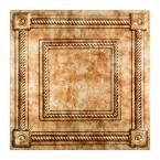Fasade Traditional 4 - 2 ft. x 2 ft. Lay-in Ceiling Tile in Bermuda Bronze - L55-17 - The Home Depot