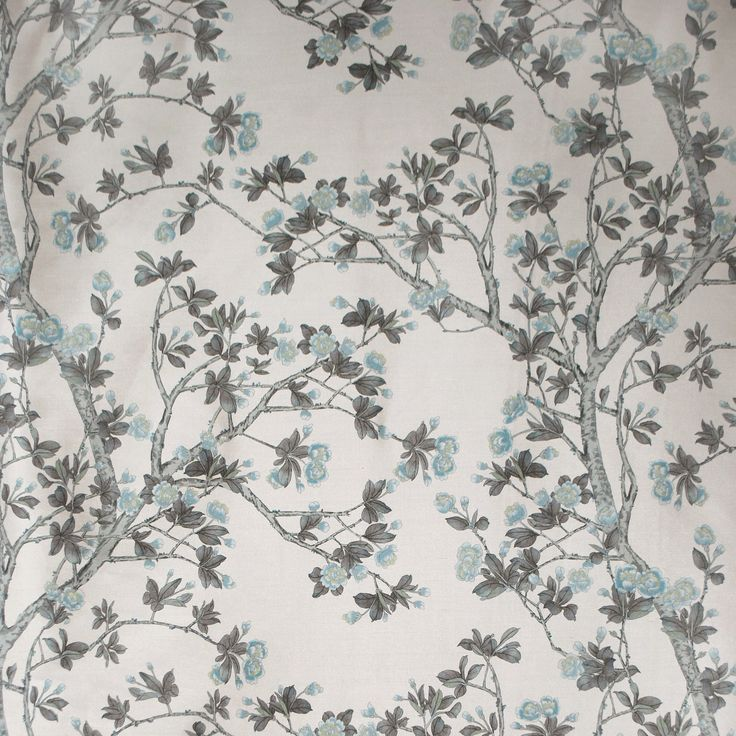 Knollwood in Blue Pewter from Old World Weavers/Stark