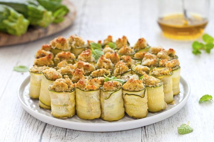 Zucchine ripiene di tonno ricetta