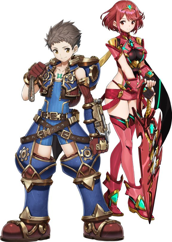 Rex & Pyra (Xenoblade Chronicles 2)