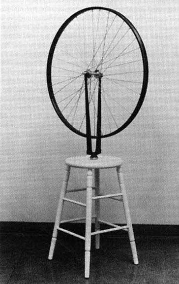 duchamp bicycle wheel dating