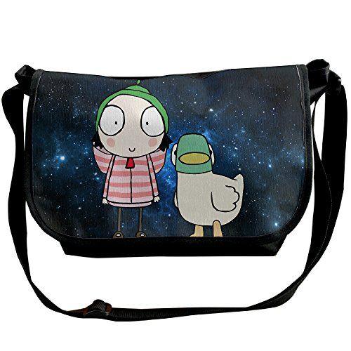 Hot Topic Sarah & Duck Cartoon Men Women Tour Shoulder Handbag Messenger Bags