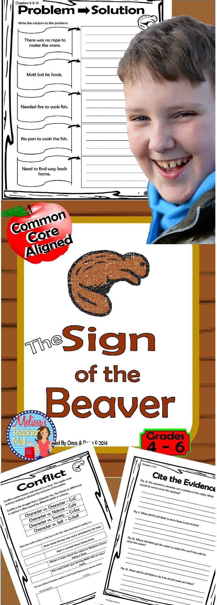 Sign of the Beaver novel unit. Common Core aligned. Fun Engaging Activities that the kiddos love!