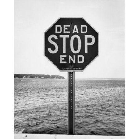Close-up of a dead end sign Canvas Art - (18 x 24)
