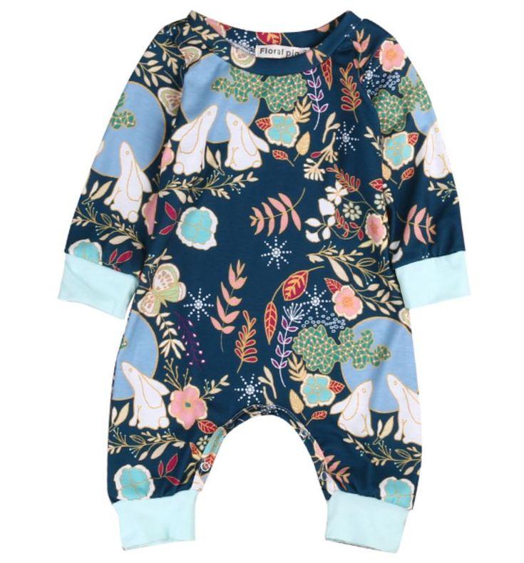Cottontail Jumper Baby Romper / Baby Girl Romper / Modern Baby / Baby Shower Gift / Trendy Baby / Newborn Girl Outfit / Baby One Piece / Infant Romper / Harem / Baby Girl / Sleeper https://presentbaby.com