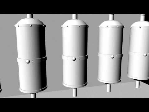 Layne Water Industrial Water Filtration Systems - 3D Animation by Austin...