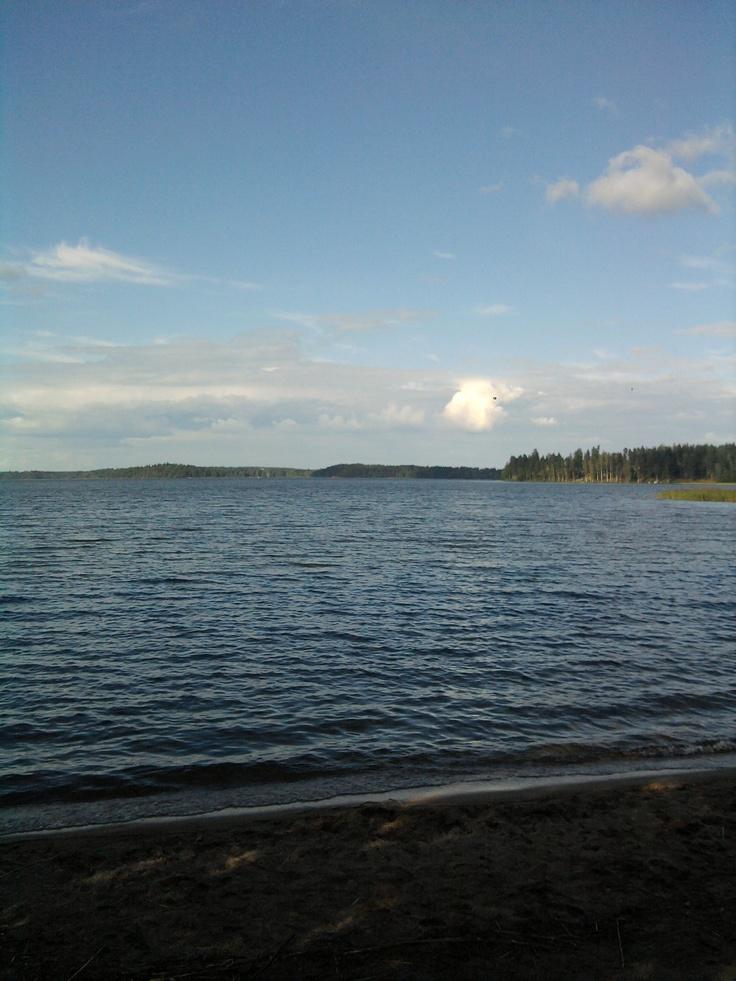 Saimaa on joskus naurettavan sininen 16.8.2012