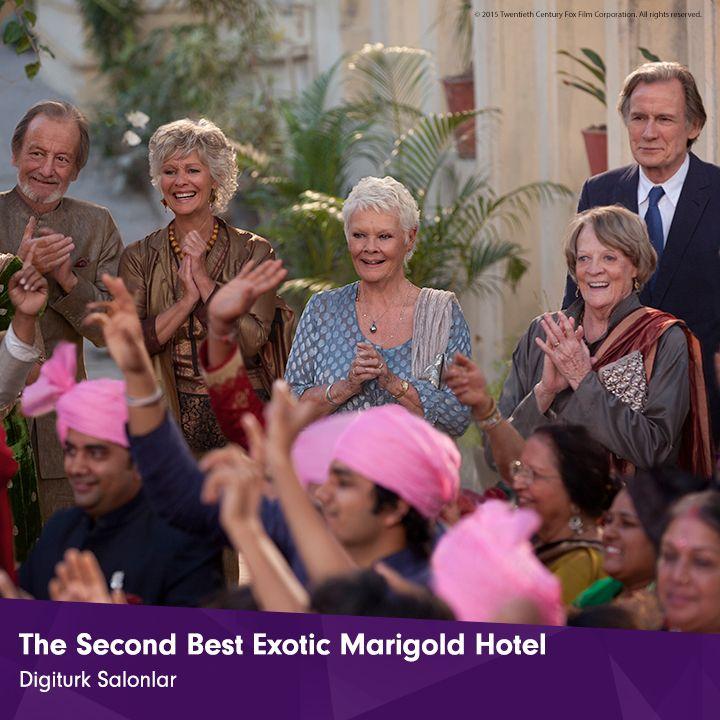 Marigold ailesi yaklaşan düğün nedeniyle büyük bir stres ve heyecan yaşarken, otele yeni atanan müdür kimsenin farkında olmadığı sırları ortaya çıkaracak! The Second Best Exotic Marigold Hotel, Ağustos'ta Digiturk Salonlar'da!