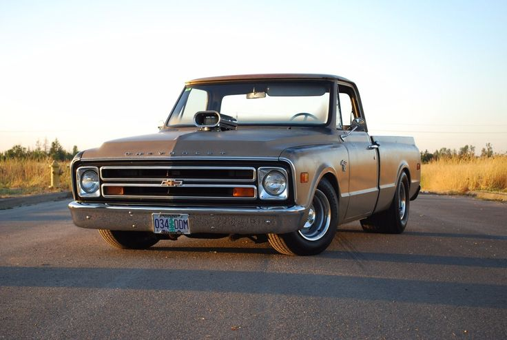 Cool Chevrolet 2017: 1968 Chevrolet C-10  1968 Chevy C10 Patina Shop Truck